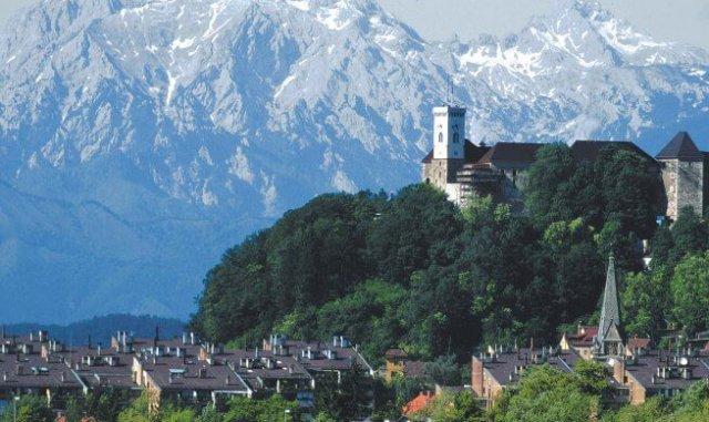 Austria Włochy Słowenia