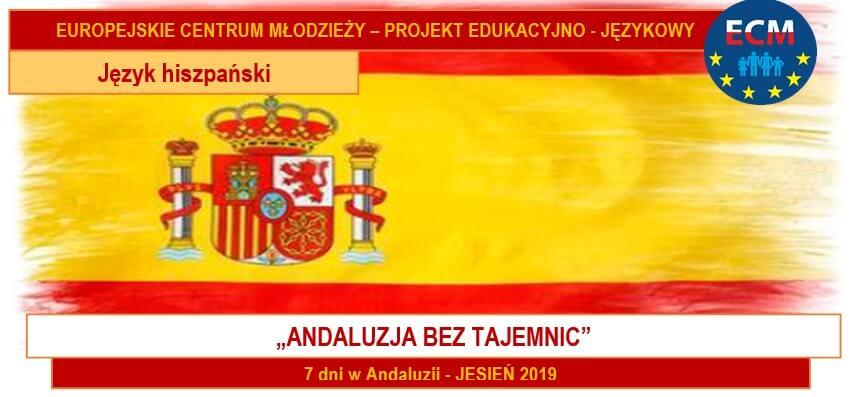 Andaluzja  bez tajemnic – jesień 2019 (angielski lub hiszpański)